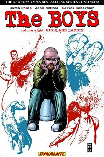 Garth Ennis The Boys Volume 8 Highland Laddie