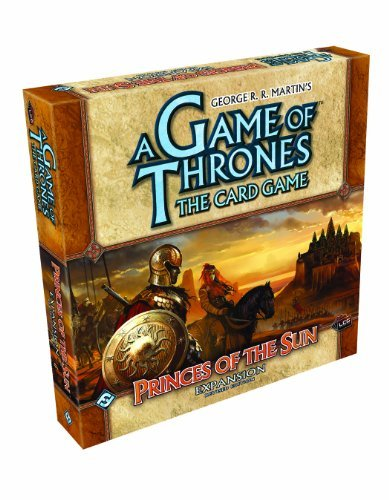Card Game A Game Of Thrones Princes Of The Sun Expansion Revised