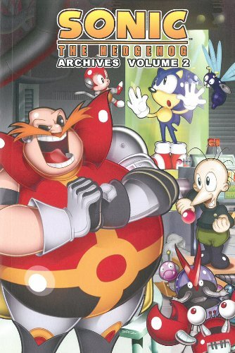 Mike Pellerito Sonic The Hedgehog Archives Volume 2