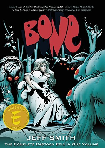 Jeff Smith Bone The Complete Cartoon Epic In One Volume