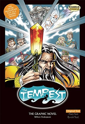 John Mcdonald The Tempest The Graphic Novel Original Text