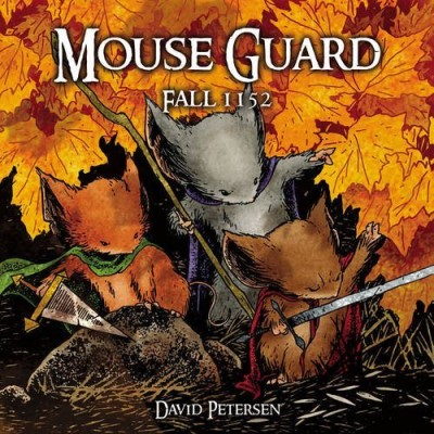 David Petersen Mouse Guard Fall 1152