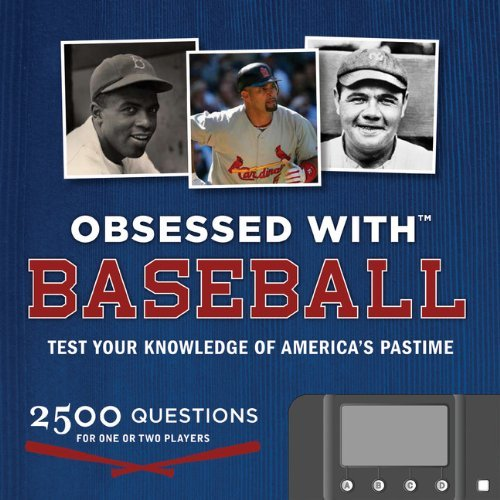 David Fischer Obsessed With Baseball Test Your Knowledge Of The America's Pastime [wit