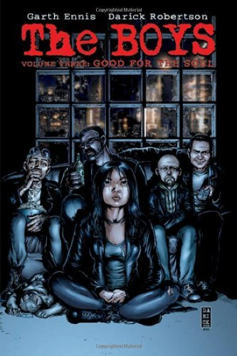 Garth Ennis The Boys Volume 3 Good For The Soul