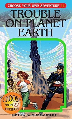 R. A. Montgomery Trouble On Planet Earth