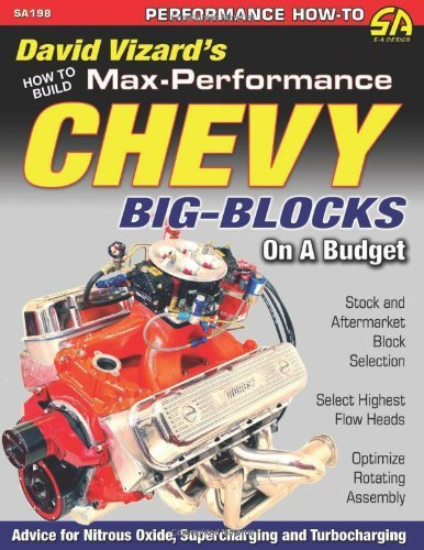 David Vizard How To Build Max Performance Chevy Big Blocks On A