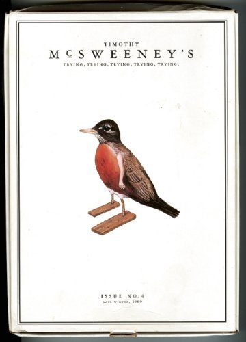 Dave Eggers Mcsweeney's Issue 4