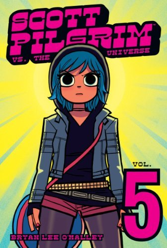 Bryan Lee O'malley Scott Pilgrim Volume 5 Scott Pilgrim Vs The Universe
