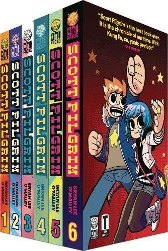 Bryan Lee O'malley Scott Pilgrim 6 Volume Boxed Set [with Poster]