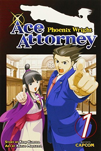Kenji Kuroda Phoenix Wright Ace Attorney Volume 1
