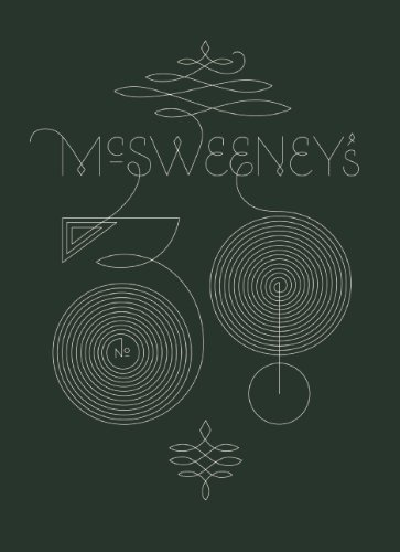Dave Eggers Mcsweeney's Issue 38