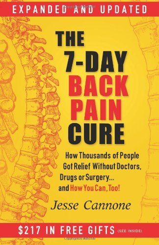Jesse Cannone 7 Day Back Pain Cure The