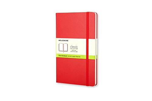 Moleskine Moleskine Classic Hard Cover Large Plain Notebook