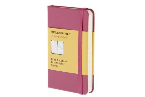Moleskine Moleskine Ruled Extra Small Magenta Notebook