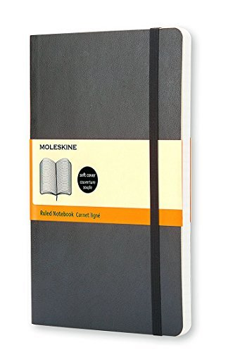Moleskine Moleskine Ruled Notebook Soft Cover Large