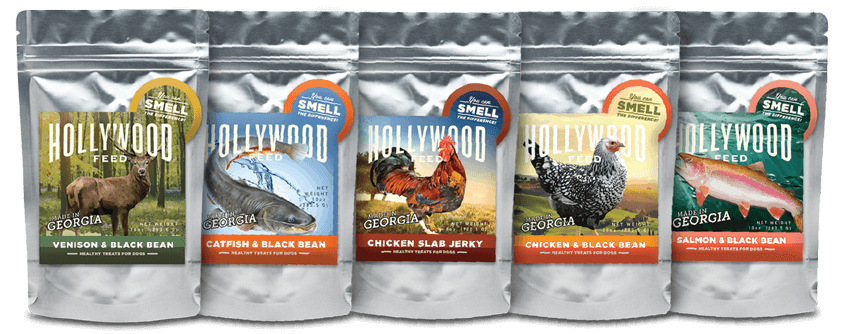 Hollywood Feed Georgia Made Jerky for Dogs product line