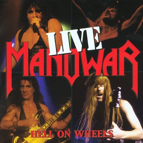 Manowar Hell On Wheels Live 2 CD Set