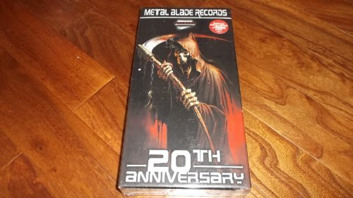 Metal Blade Records 20th Anniversary Box Set Lmtd Ed. Remastered 9 CD Set Incl. Bonus DVD