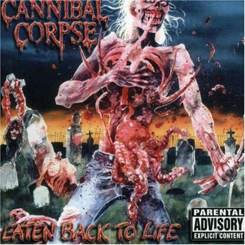 Cannibal Corpse Eaten Back To Life Explicit Version Incl. Bonus Tracks CD Rom