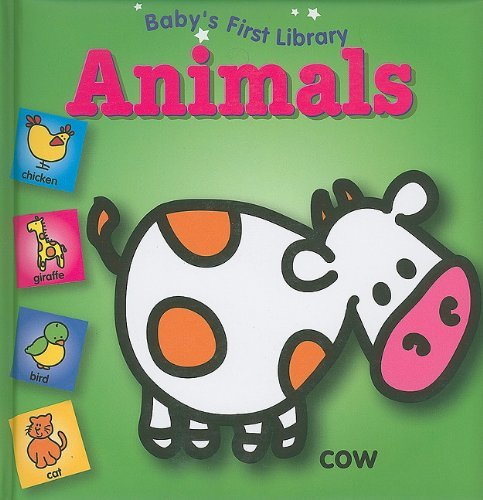 Yoyo Books Baby's First Library Animals