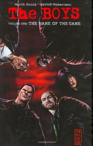 Garth Ennis The Name Of The Game