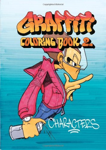 Jacob Kimvall Graffiti Coloring Book 2 Characters