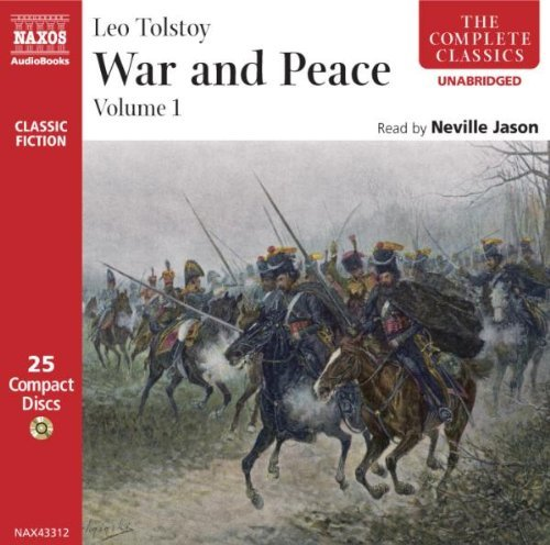 Leo Tolstoy War & Peace Vol. 1 2 CD