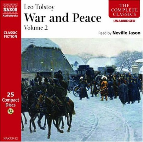 Leo Tolstoy War & Peace Vol. 2 2 CD