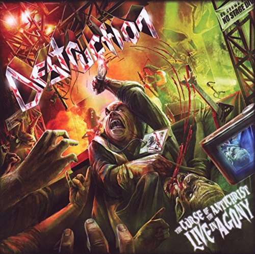 Destruction Curse Of The Antichrist 2 CD Set