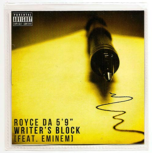 Royce Da 5'9 Writer's Block Feat. Eminem Rsd Exclusive B W Where's My Money At