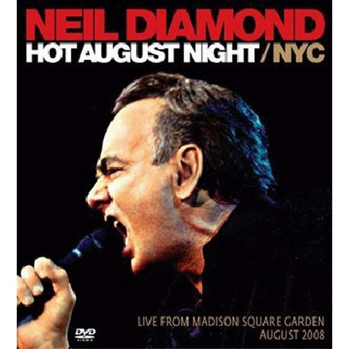 Neil Diamond Hot August Night Nyc Import Gbr
