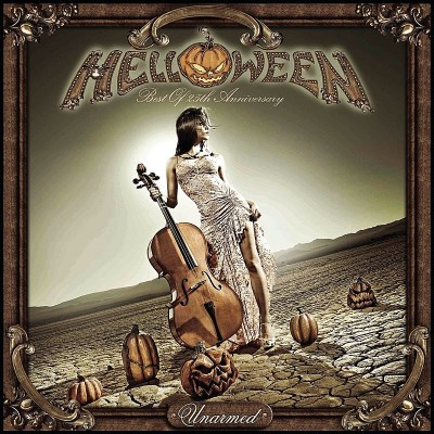 Helloween Unarmed Best Of 25th Annivers Import Eu Incl. Bonus DVD