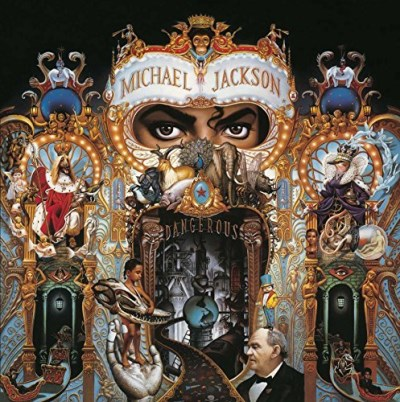 Michael Jackson Dangerous Import Eu 2 Lp