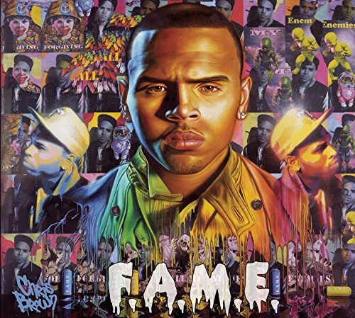 Chris Brown F.A.M.E. Clean Version Deluxe Ed. Digipak