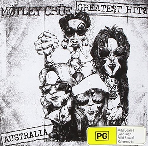 Mötley Crüe Greatest Hits Import Aus Incl. DVD