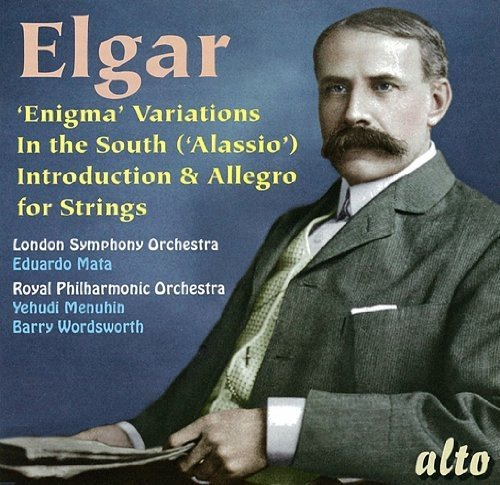 E. Elgar Enigma Variations In The South Mata Menuhin Word