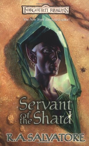 R. A. Salvatore Servant Of The Shard (paths Of Darkness)