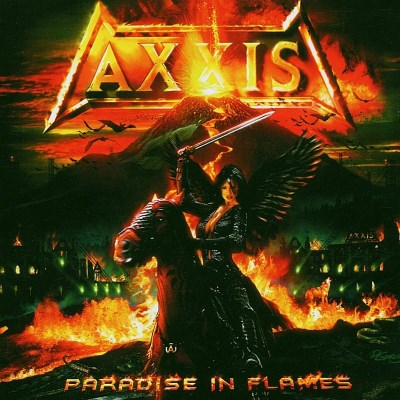 Axxis Paradise In Flames Import Gbr Digpak Inlc. Bonus Tracks