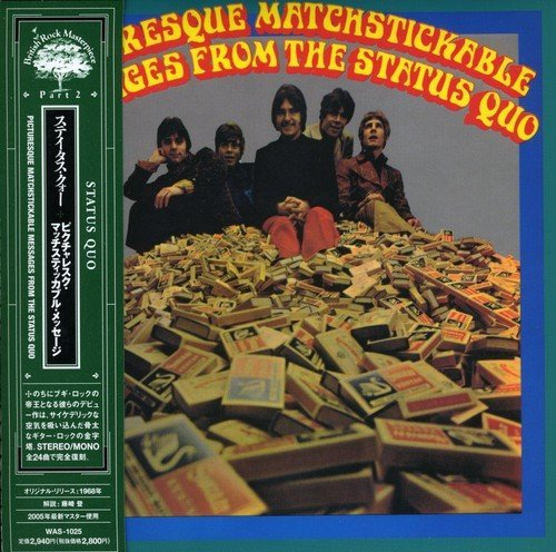 Status Quo Picturesque Matchstickable Mes Import Jpn Remastered Paper Sleeve