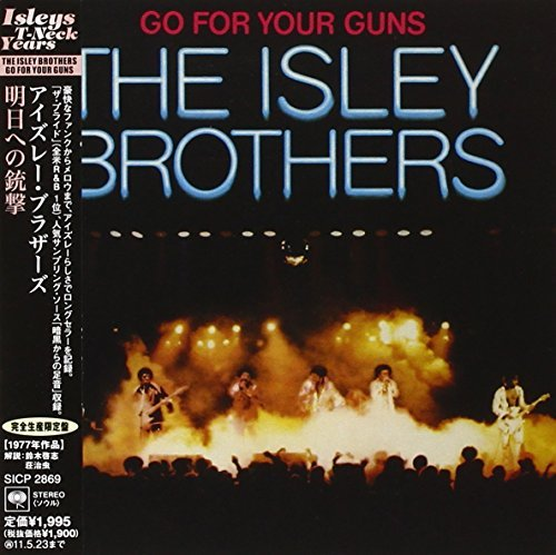 Isley Brothers Go For Your Guns Import Jpn Paper Sleeve