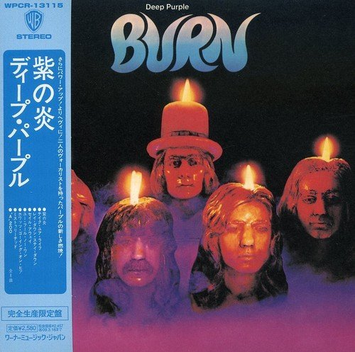 Deep Purple Burn Import Jpn Shm CD