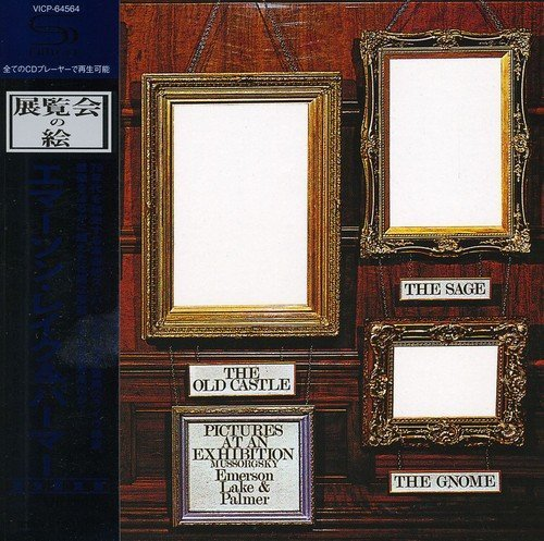 Emerson Lake & Palmer Pictures At An Exhibition Import Jpn Shm CD