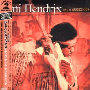 Jimi Hendrix Live At Woodstock Import Jpn