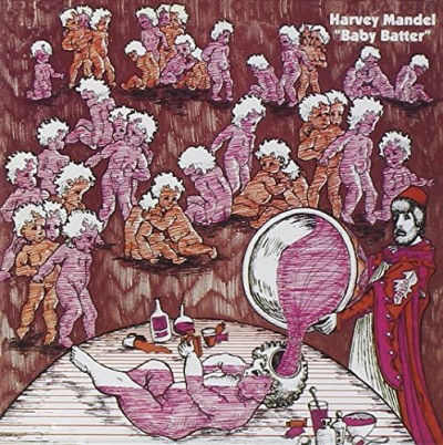 Harvey Mandel Baby Batter Import Gbr