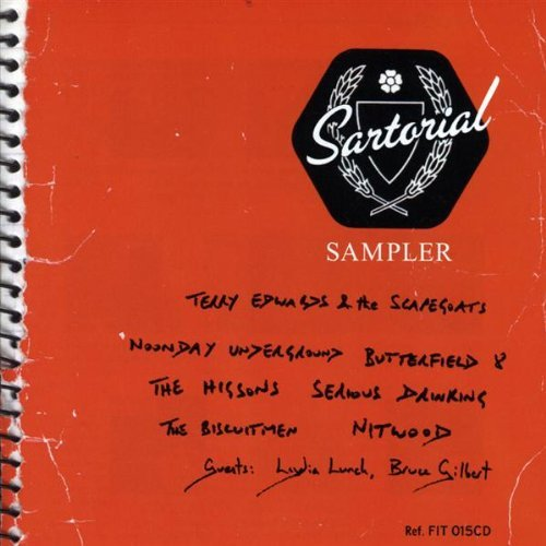 Terry Edwards Sartorial Labelsampler Import Gbr
