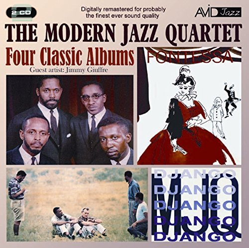 Modern Jazz Quartet Four Classic Albums Import Gbr 2 CD