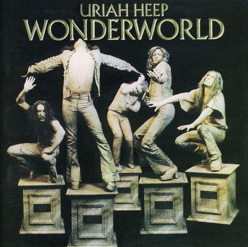 Uriah Heep Wonderworld Import Gbr Incl. Bonus Tracks