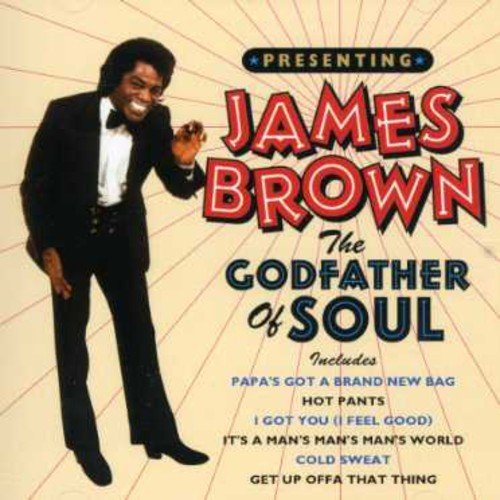 James Brown Godfather Of Soul Import Eu
