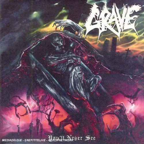 Grave You'll Never See Import Eu Incl. Bonus Track