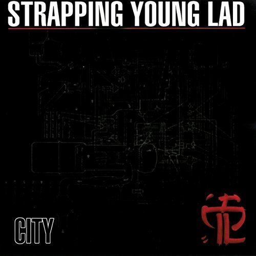 Strapping Young Lad City Import Eu 2007 Reissue+bonus Tracks